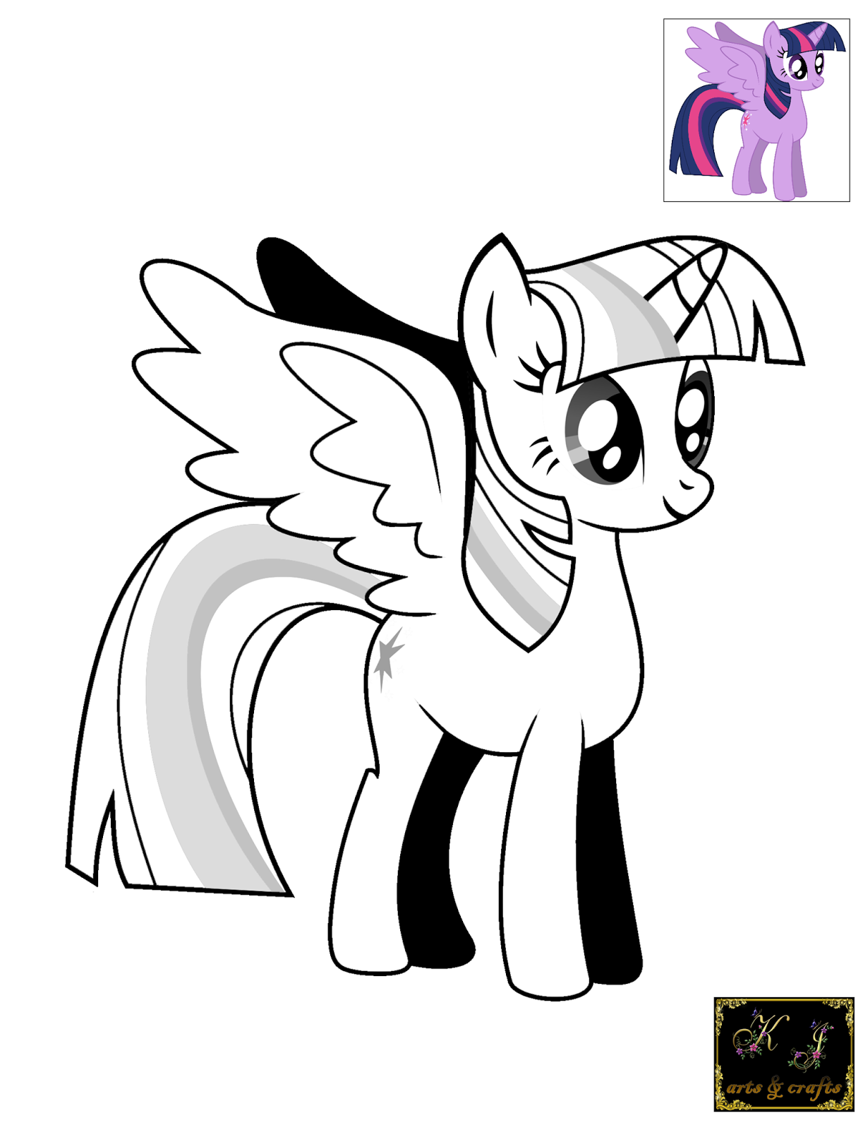 Filly coloring pages coloring home for Twilight sparkle coloring page
