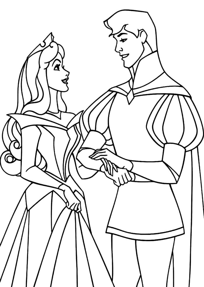Disney sleeping beauty coloring pages az coloring pages for Sleeping beauty coloring pages to print