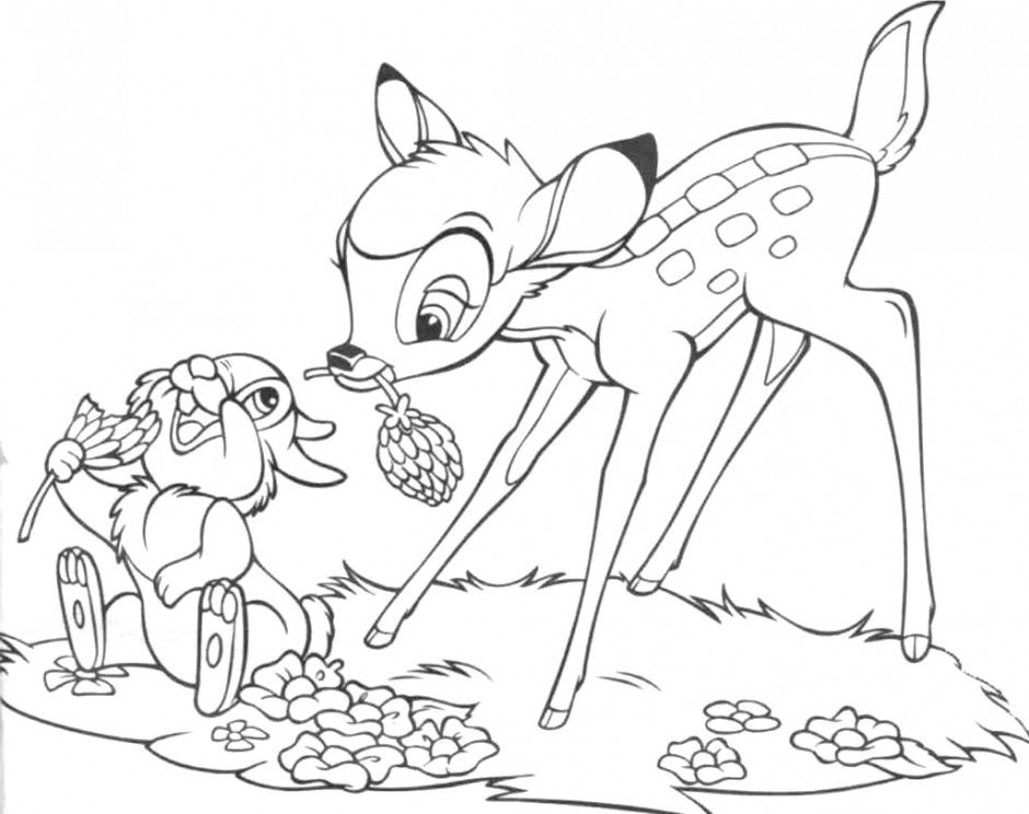 thumper coloring pages - photo#27