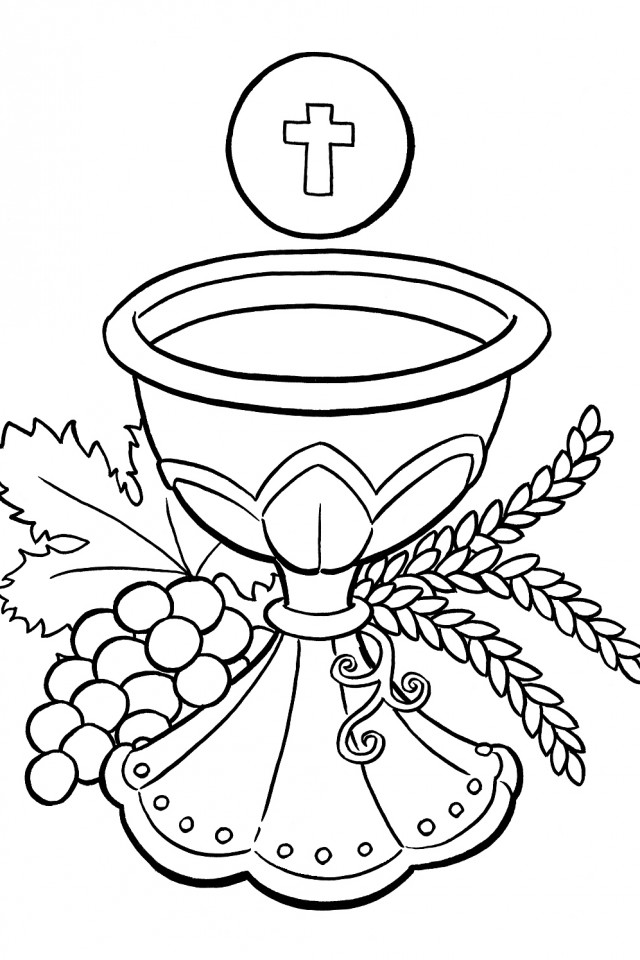 roman catholic coloring pages - photo#4