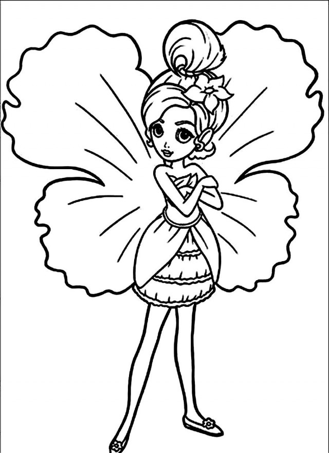 thumberlina coloring pages - photo#14