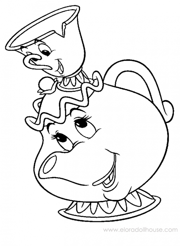 tea coloring pages - photo#17