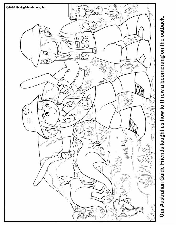brownie printable coloring pages - photo#28