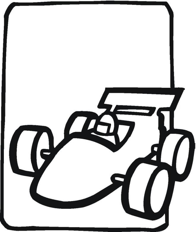 Indy Car Coloring Pages Coloring