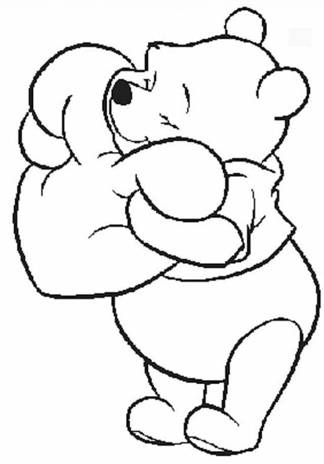 Winnie The Pooh Coloring Page Tv Series Coloring Page | PicGifs.com | 918x640
