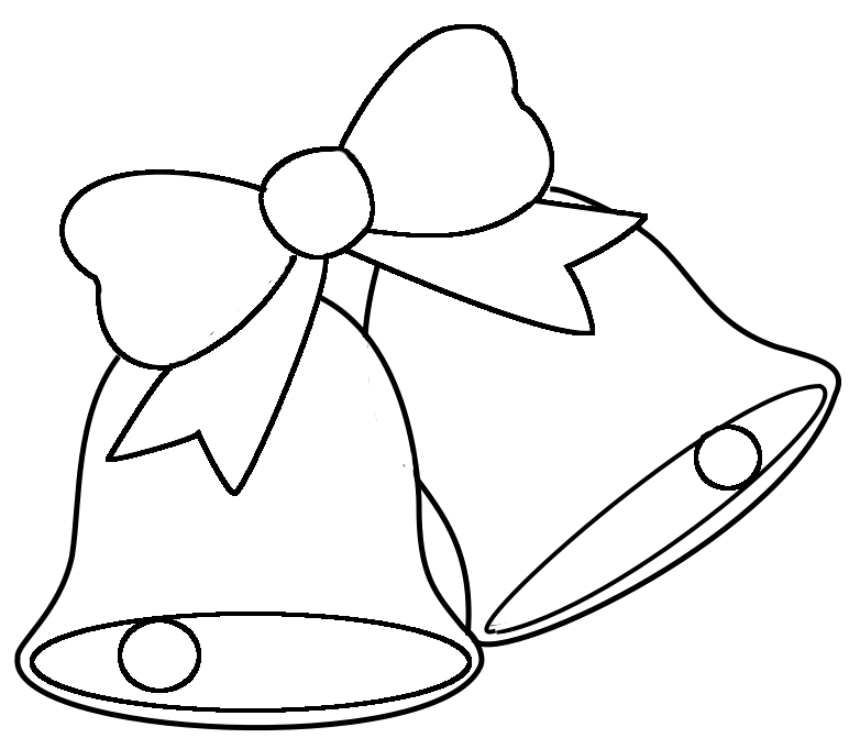 Christmas Bell Coloring Page • FREE Printable PDF from PrimaryGames | 681x782