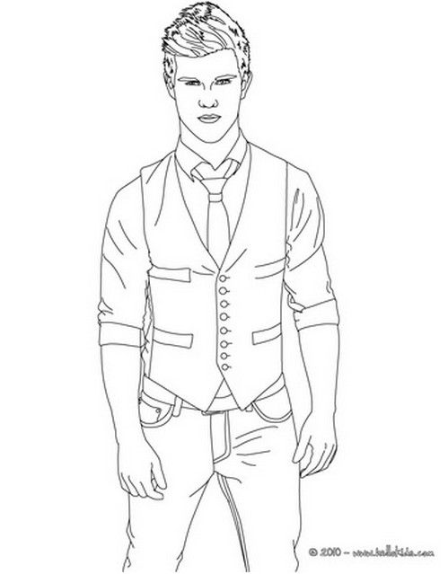 printable twilight coloring pages - photo#19
