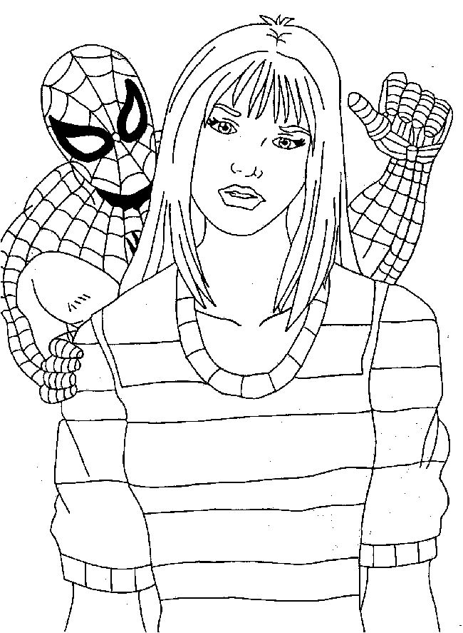 spiderman coloring pages printables az coloring pages