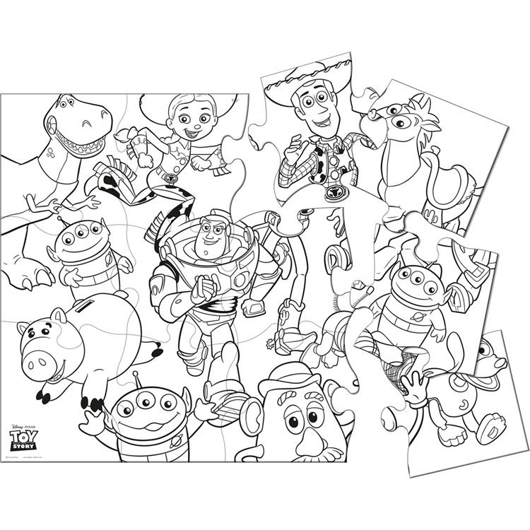 toy story 2 coloring pages free - toy story 3 coloring page coloring home