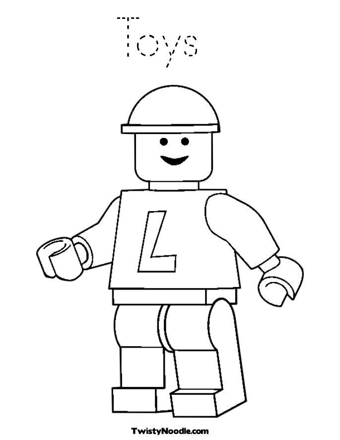 Lego City Coloring Pages AZ Coloring