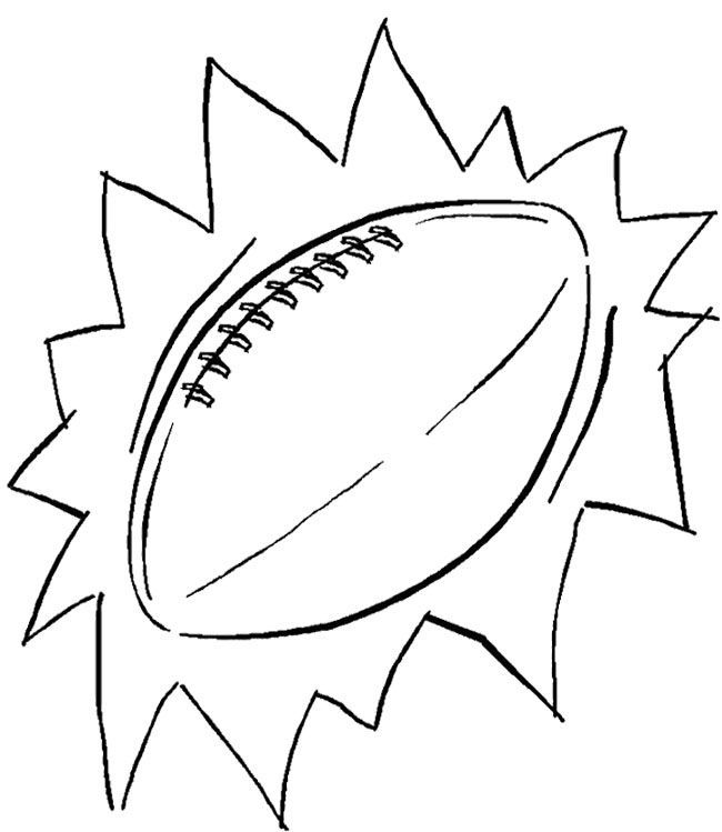 Super Bowl Coloring Pages Coloring Home