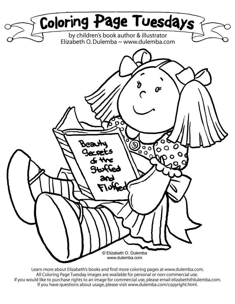 baby dool coloring pages - photo#33