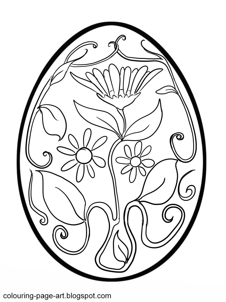 Easter Drawings AZ Coloring Pages