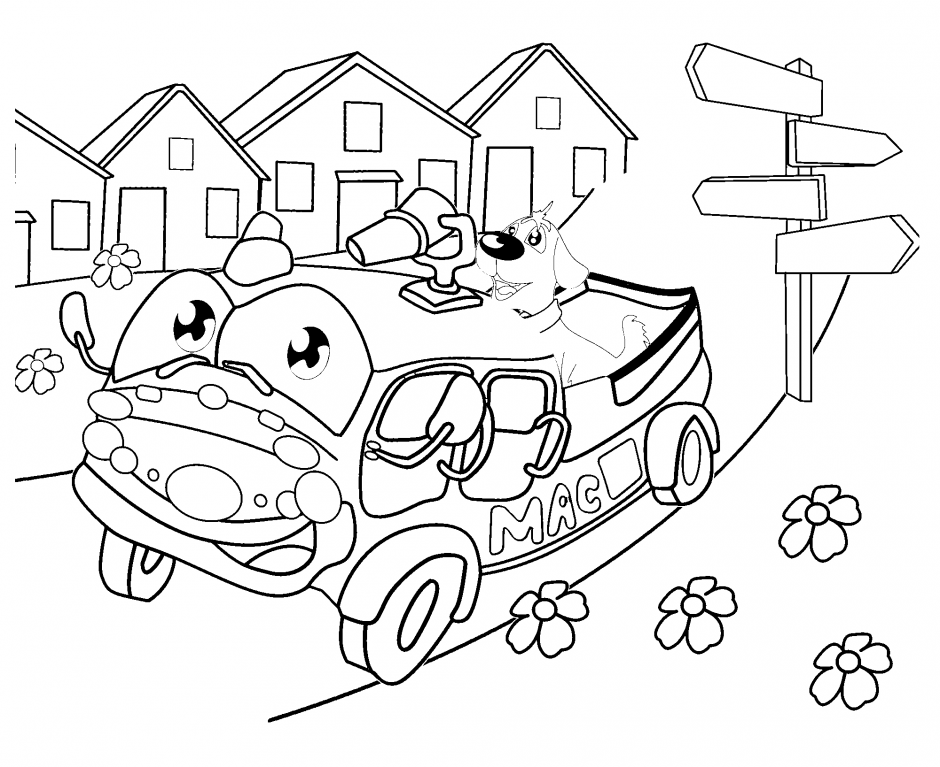 coloring pages for tundra - photo#5