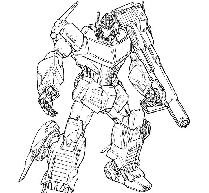coloring pages optimus prime - photo#25