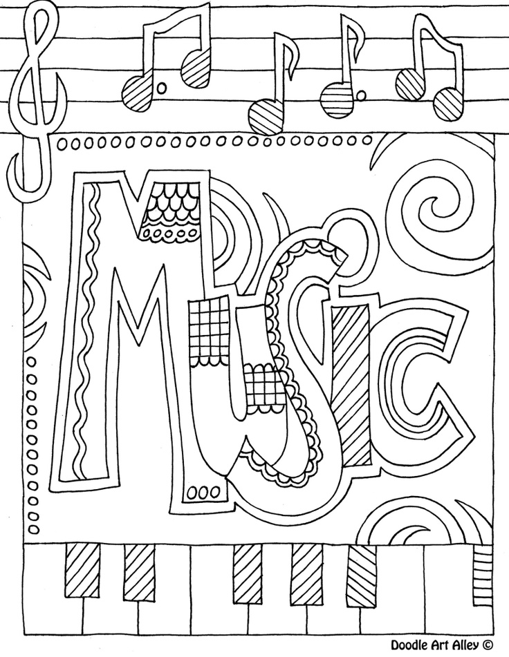 music coloring pages by numbers - photo#31