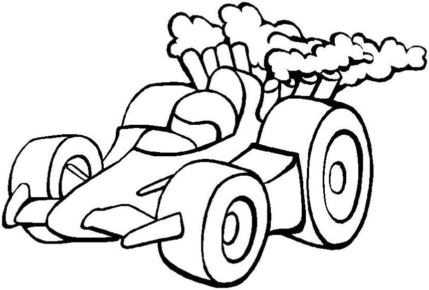 Coloring Pages Of Race Cars  Race Car Pictures To Color
