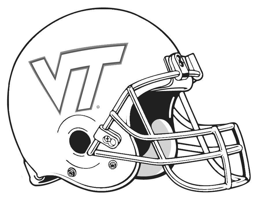 nfl football helmet coloring pages az coloring pages NFL Logo Coloring Pages  Coloring Pages Football Helmets Nfl