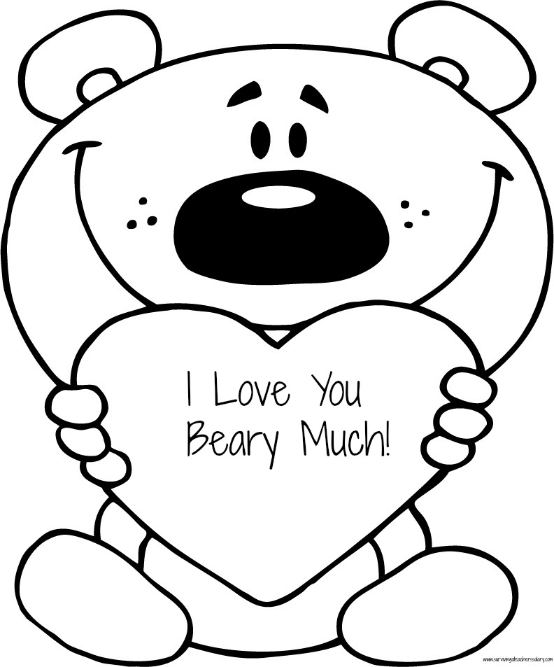 Cute Love Coloring Pages Az Coloring Pages I Colouring Pages