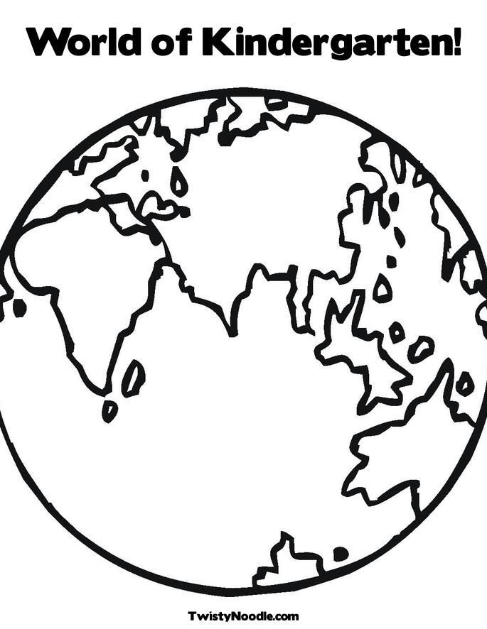 earth day coloring pages kindergarten ~ studentdrivers