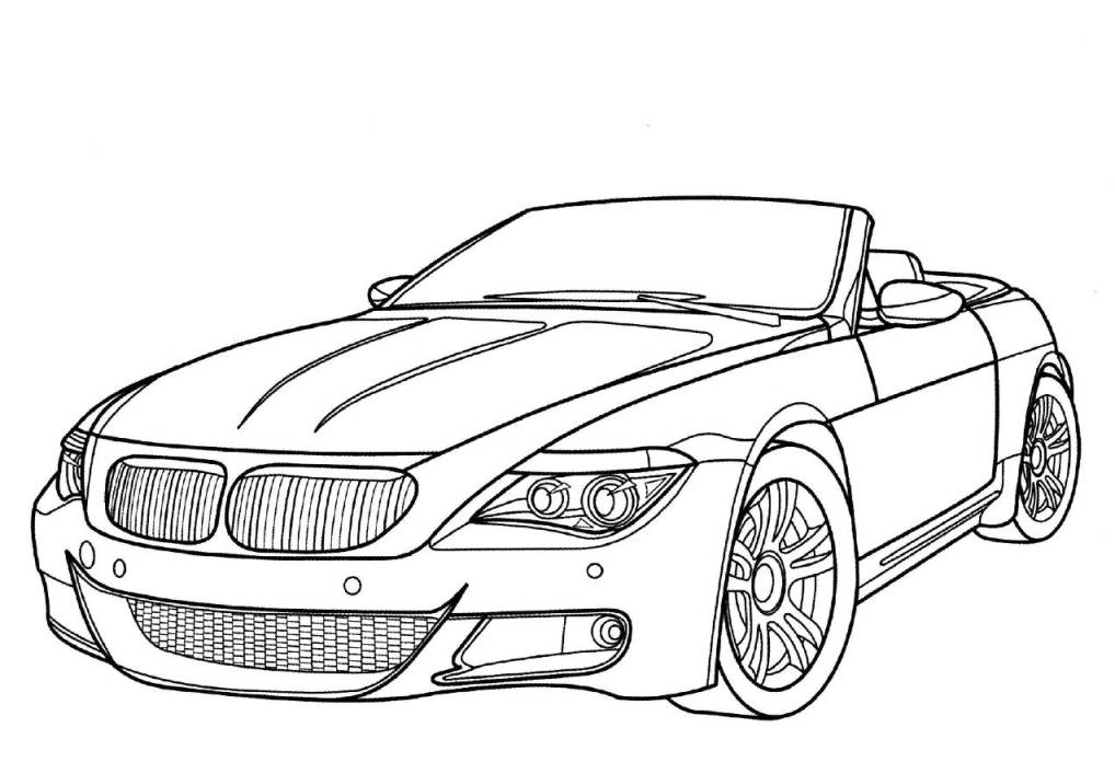Old Car Coloring Pages Printable Cars For Kids