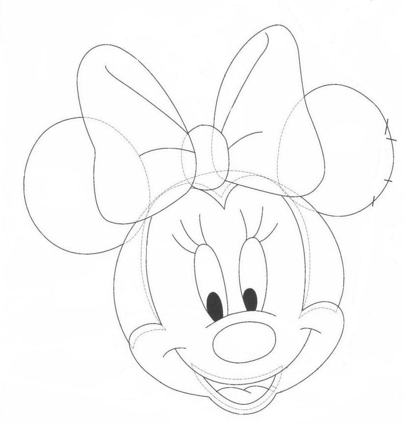 Minnie Mouse Drawings - AZ Coloring Pages