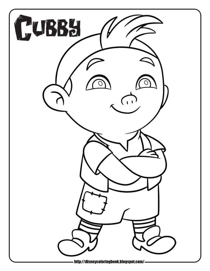 Jake and the neverland pirates drawing az coloring pages for Jake and the never land pirates coloring pages