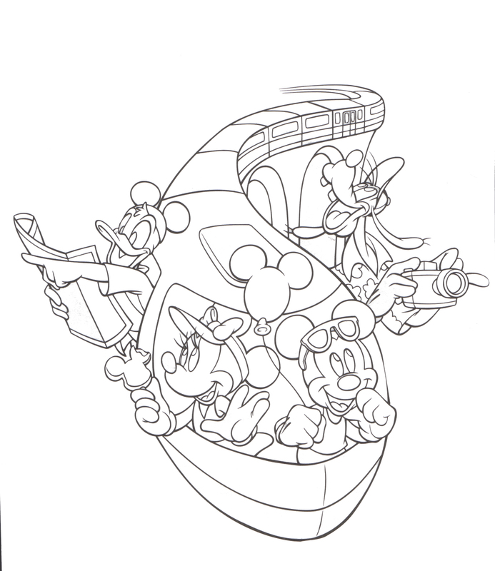 Disney World Coloring Pages Az Coloring Pages Disney Cruise Coloring Pages