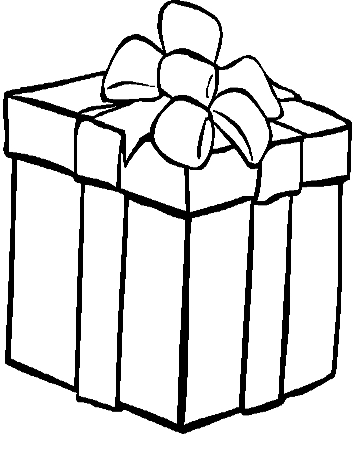 Presents Coloring Page - AZ Coloring Pages