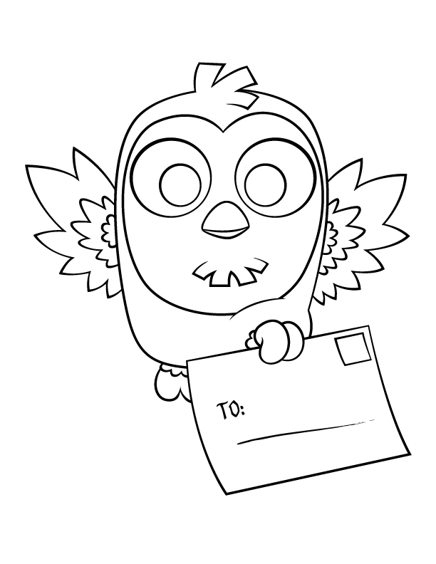 coloring page owl az coloring pages