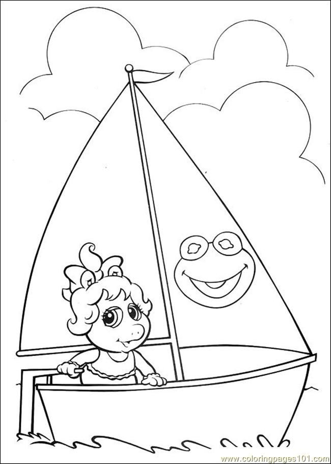 Coloring Pages Muppet Babies 49 (Cartoons > Muppet Babies) - free