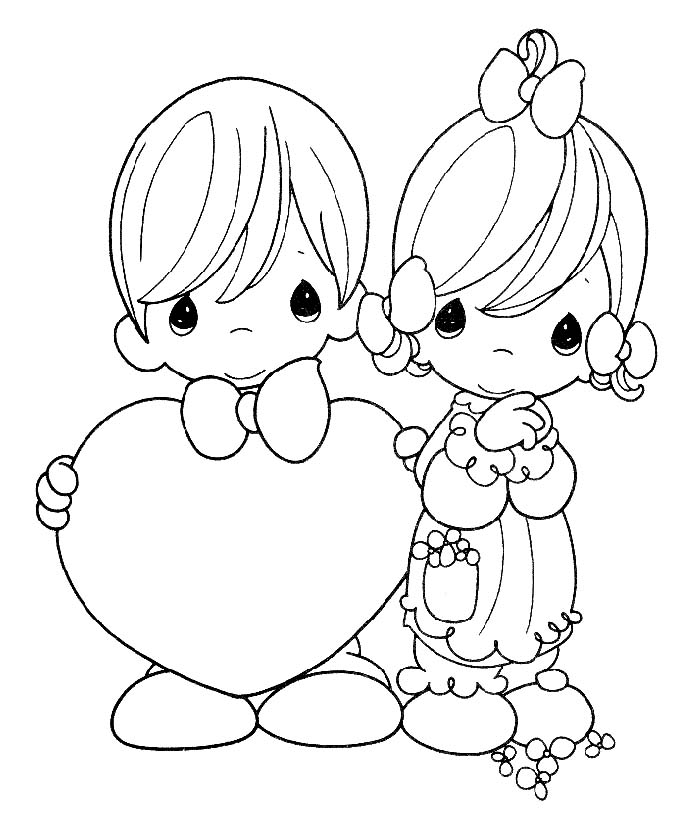 precious moments chritsmas coloring pages - photo#24