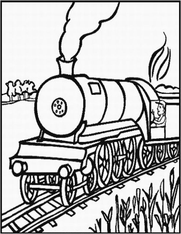 Diesel Train Coloring Pages Coloring Ws Coloring Home