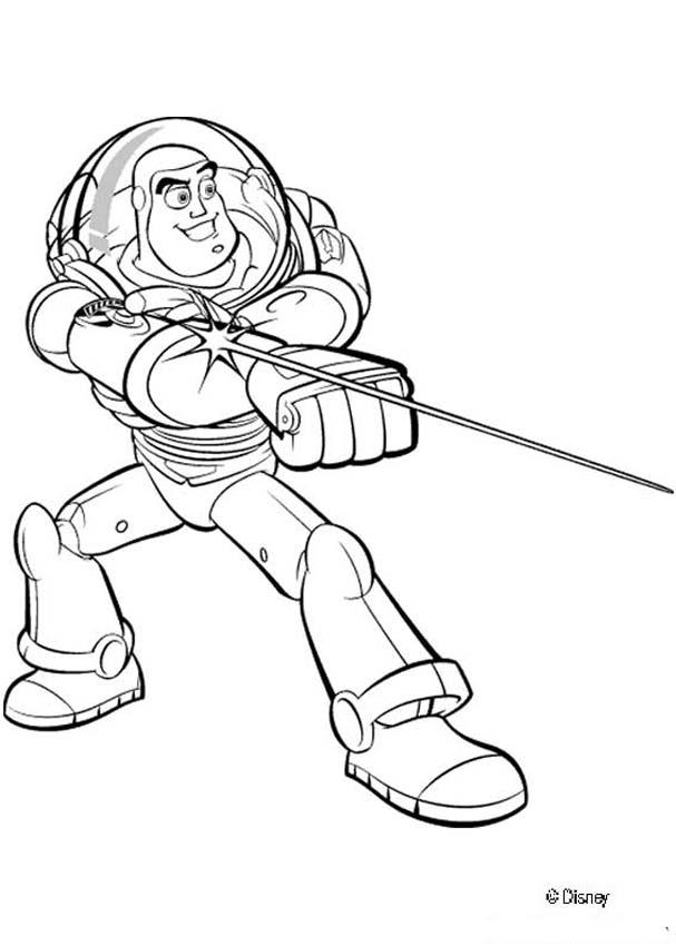Toy Story coloring book pages - Toy Story 5