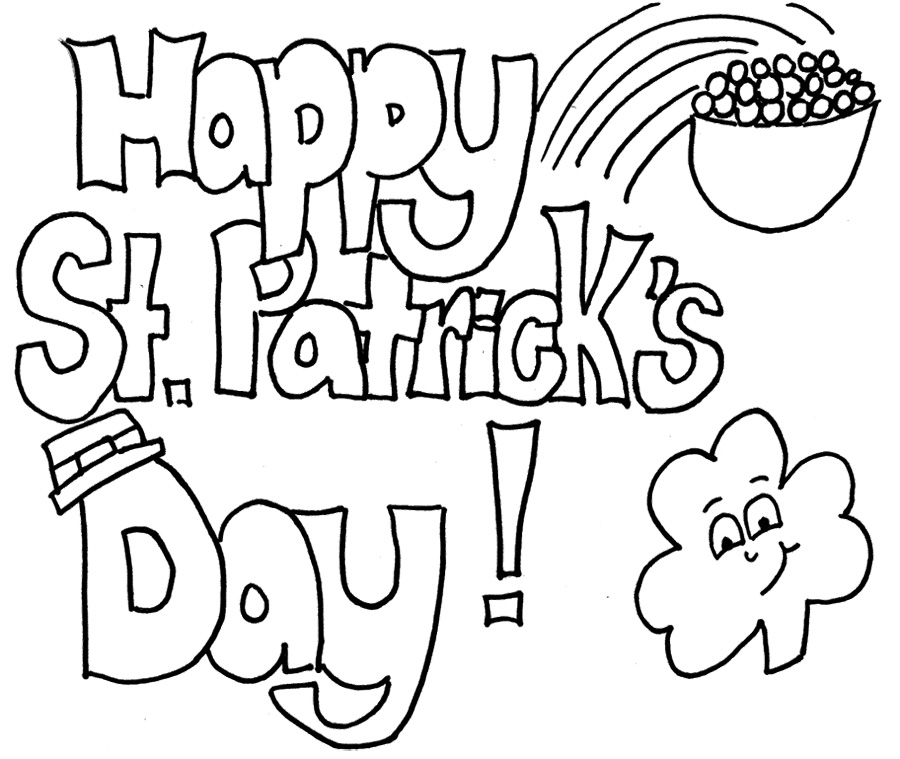 St Patrick S Day Coloring Pages Free Printable/page/2 | Coloring Kids