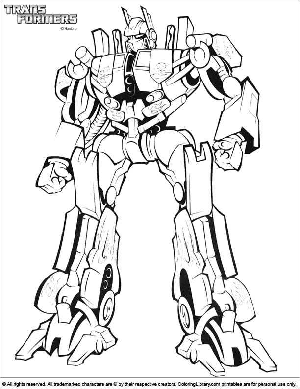 Transformers 2 Coloring Pages