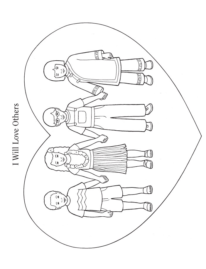 Love one another coloring pages az coloring pages for Love one another coloring pages