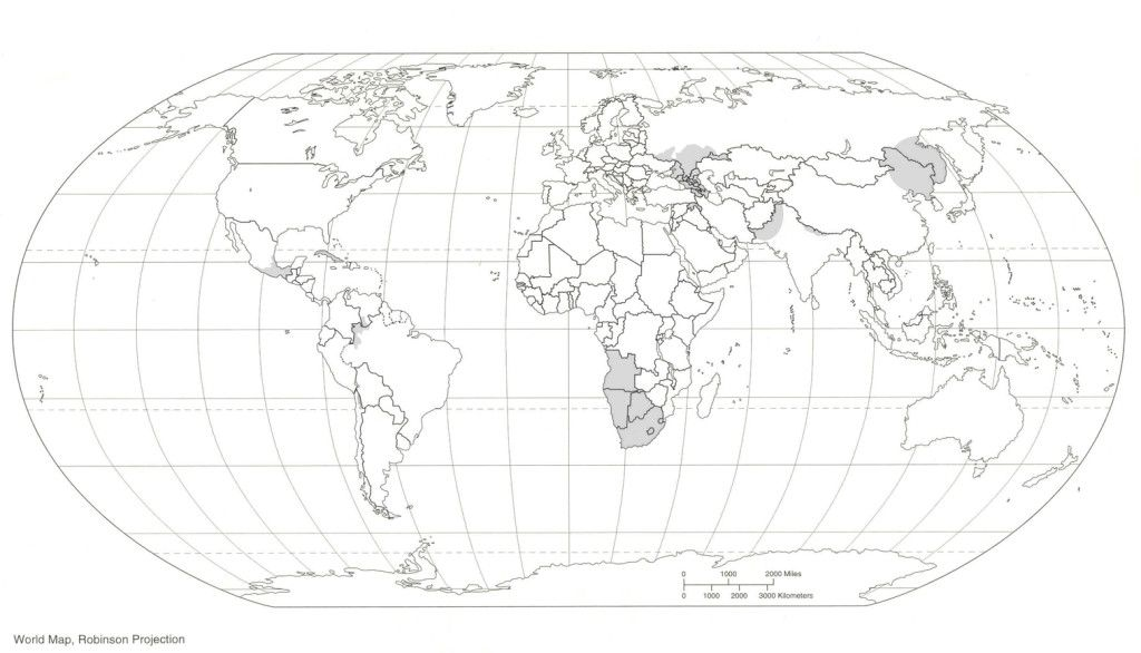 - World Map Coloring Page For Kids - Coloring Home