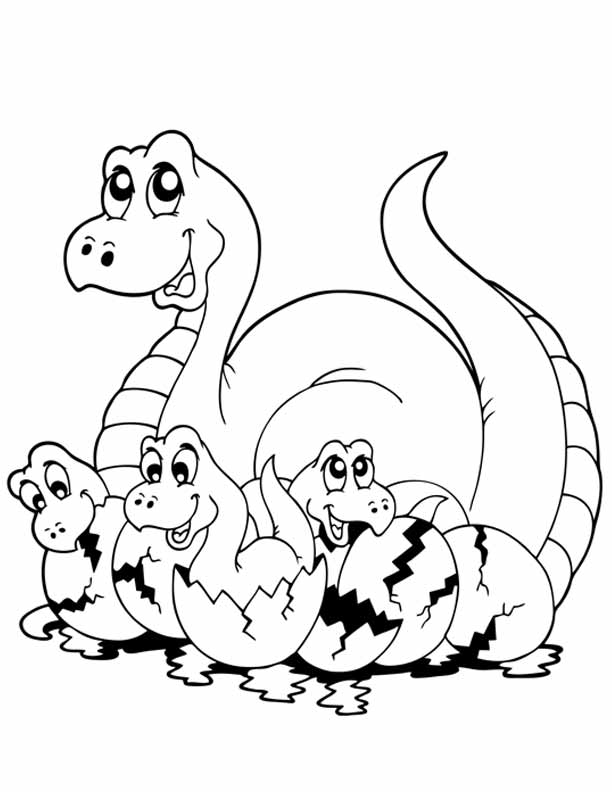Dinosaur Coloring Pages Coloring Home