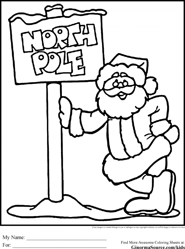 free christmas cartoon coloring pages - photo#22