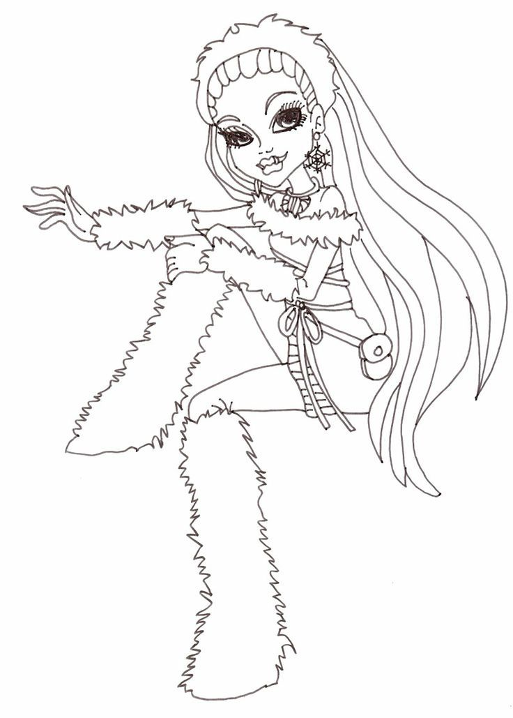 Monster High Characters To Print Coloring Home High Characters Coloring Pages