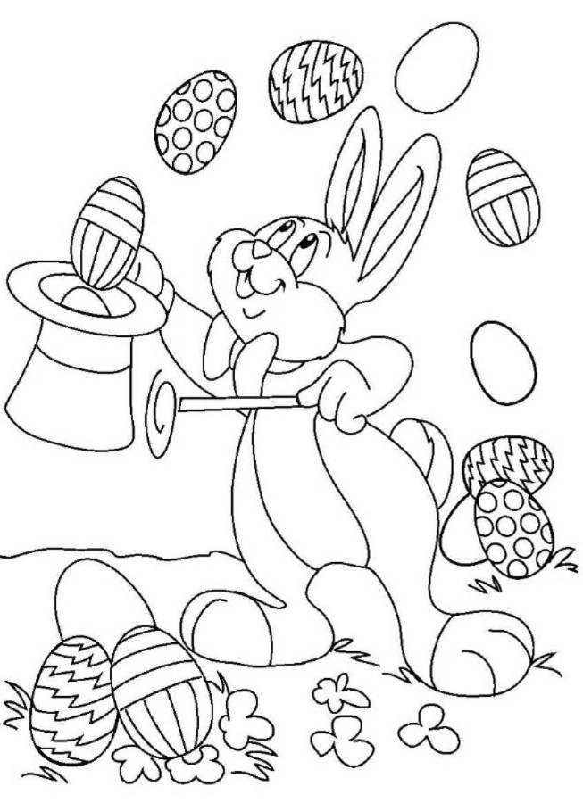 Printable Spring Coloring Pages Kindergarten