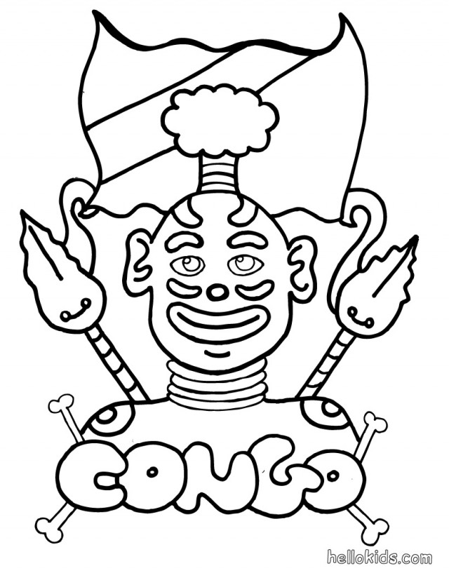 Africa Coloring Pages For Kids  AZ Coloring Pages