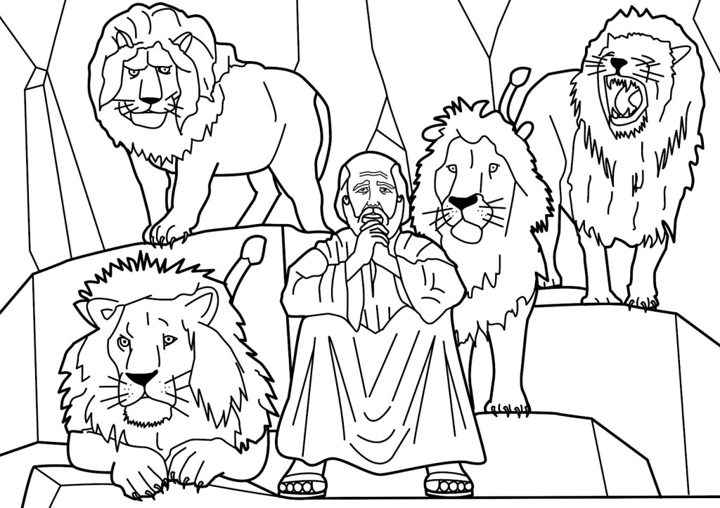 child bible story coloring pages - photo#25