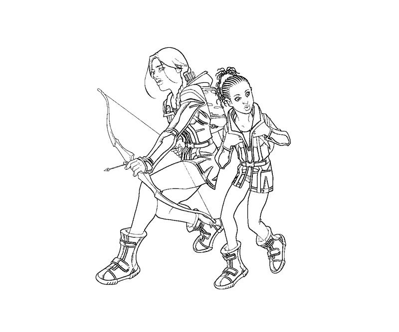 hunger games coloring pages printable - photo#16