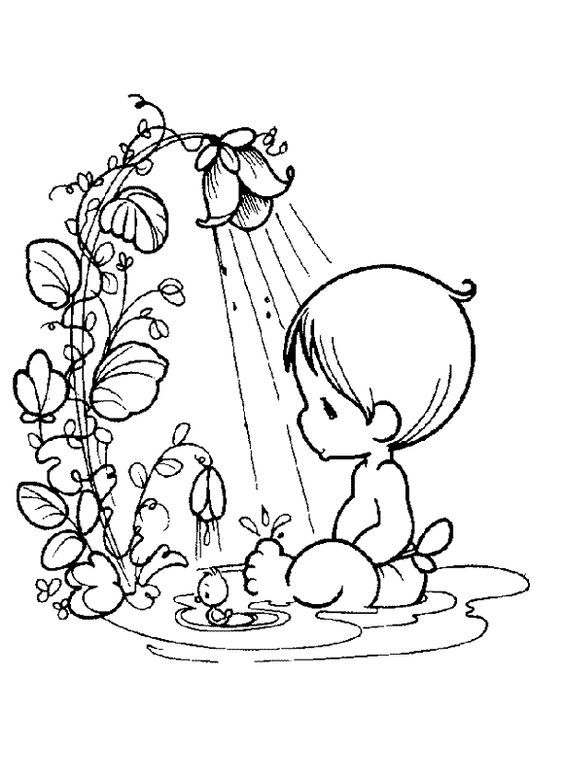 Baby Boy Coloring Pages - Coloring Home