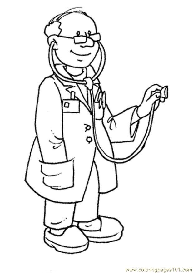 jobs and occupations coloring pages coloring pages for kids and