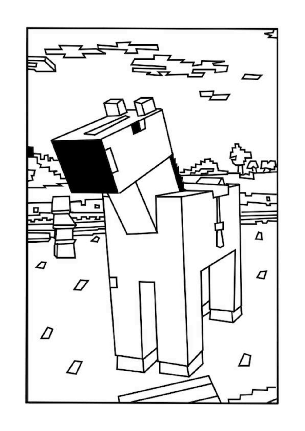 Coloring Pages For Boys Minecraft   Coloring Home