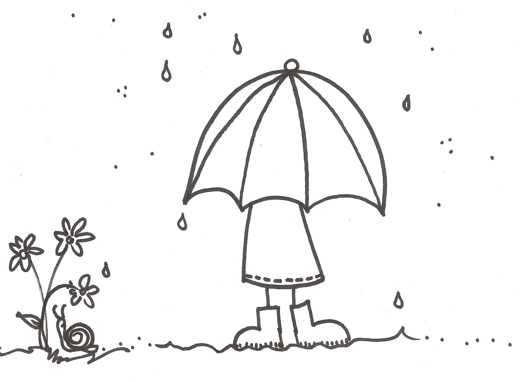 raindrop coloring page 20 pictures colorinenet 23795
