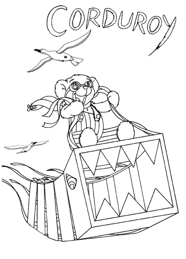 corduroy coloring pages - photo#32